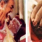 Per un libro le stigmate di Padre Pio sarebbero fasulle