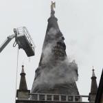 Fulmine sul Duomo di Parma. Chi ha salvato la cattedrale?